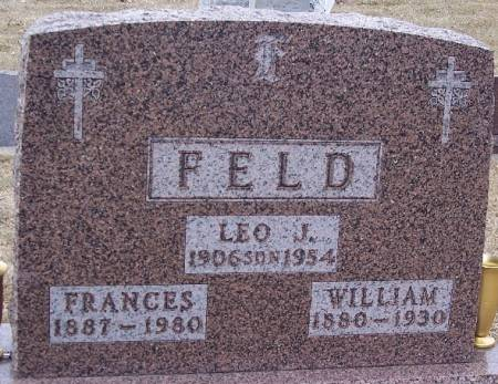 BUDDEN FELD, FRANCES ANNA - Carroll County, Iowa | FRANCES ANNA BUDDEN FELD