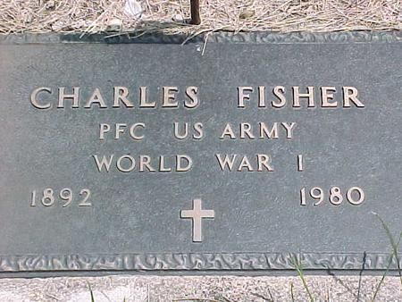 FISHER, CHARLES - Carroll County, Iowa | CHARLES FISHER