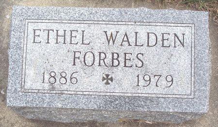WALDEN FORBES, ETHEL LUCY - Carroll County, Iowa | ETHEL LUCY WALDEN FORBES