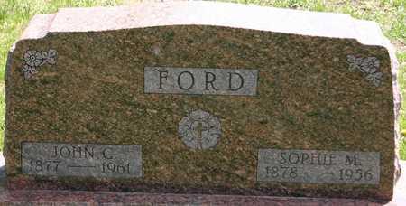 FORD, JOHN C - Carroll County, Iowa   JOHN C FORD