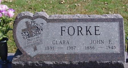 FORKE, JOHN & CLARA - Carroll County, Iowa | JOHN & CLARA FORKE