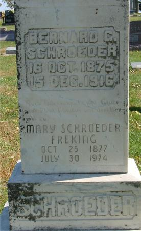 SCHROEDER FREKING, MARY - Carroll County, Iowa | MARY SCHROEDER FREKING
