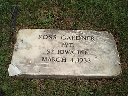 GARDNER, PVT. ROSS - Carroll County, Iowa | PVT. ROSS GARDNER