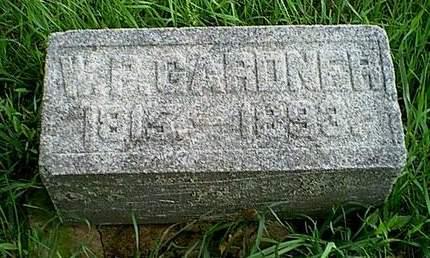 GARDNER, W.P. - Carroll County, Iowa | W.P. GARDNER
