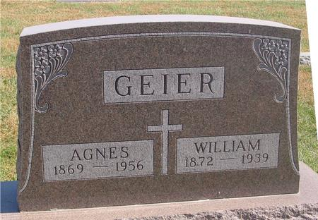 GEIER, WILLIAM & AGNES - Carroll County, Iowa | WILLIAM & AGNES GEIER