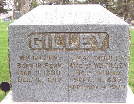 GILLEY, WILLIAM - Carroll County, Iowa | WILLIAM GILLEY