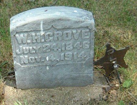 GROVE, W. H. - Carroll County, Iowa   W. H. GROVE