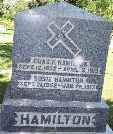 HAMILTON, CHARLES F - Carroll County, Iowa | CHARLES F HAMILTON