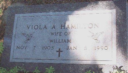 LONEMAN HAMILTON, VIOLA A - Carroll County, Iowa   VIOLA A LONEMAN HAMILTON