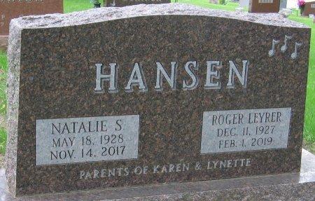 HANSEN, ROGER LEYRER - Carroll County, Iowa | ROGER LEYRER HANSEN