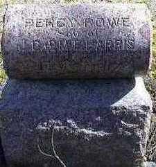 HARRIS, PERCY ROWE - Carroll County, Iowa | PERCY ROWE HARRIS