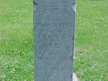 HARVEY, BERT W. - Carroll County, Iowa | BERT W. HARVEY
