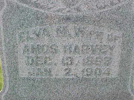 CLIFFORD HARVEY, ELVA  M. - Carroll County, Iowa   ELVA  M. CLIFFORD HARVEY