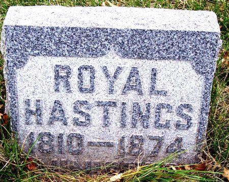 HASTINGS, ROYAL - Carroll County, Iowa   ROYAL HASTINGS