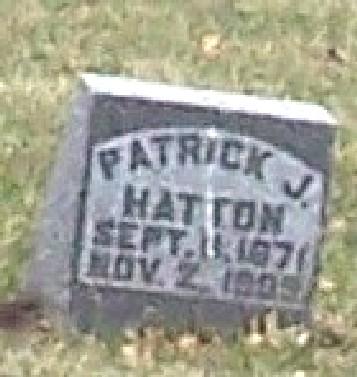 HATTON, PATRICK JOHN - Carroll County, Iowa | PATRICK JOHN HATTON