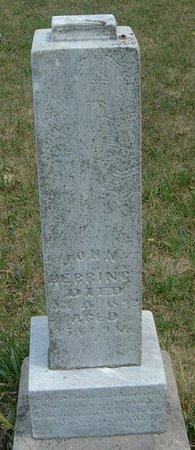 HERRING, JOHN - Carroll County, Iowa   JOHN HERRING