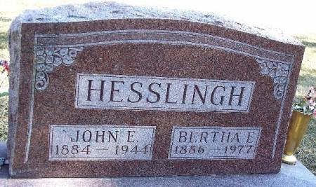 KOTAS HESSLINGH, BERTHA E - Carroll County, Iowa | BERTHA E KOTAS HESSLINGH
