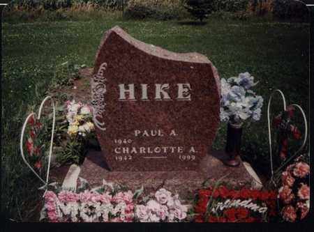 HIKE,  CHARLOTTE - Carroll County, Iowa |  CHARLOTTE HIKE