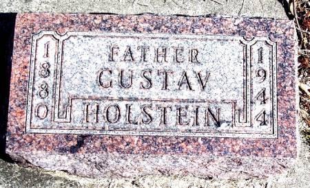 HOLSTEIN, GUSTAV - Carroll County, Iowa   GUSTAV HOLSTEIN