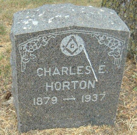HORTON, CHARLES E. - Carroll County, Iowa   CHARLES E. HORTON