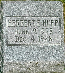 HUPP, HERBERT E. - Carroll County, Iowa   HERBERT E. HUPP