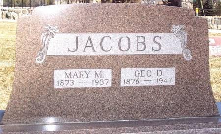 HARMS JACOBS, MARY M - Carroll County, Iowa | MARY M HARMS JACOBS