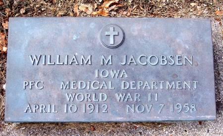 JACOBSEN, WILLIAM M - Carroll County, Iowa | WILLIAM M JACOBSEN