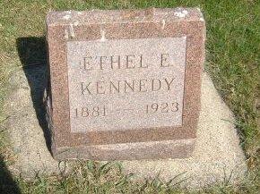 KENNEDY, ETHEL E. - Carroll County, Iowa   ETHEL E. KENNEDY