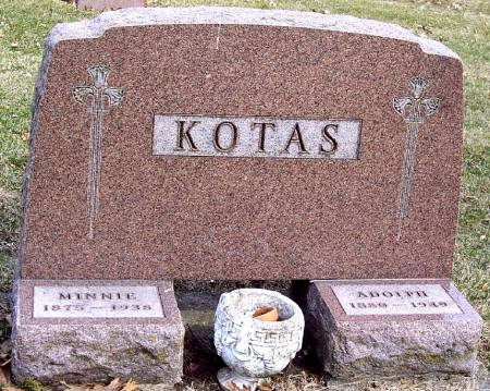 KOTAS, ADOLPH J - Carroll County, Iowa | ADOLPH J KOTAS