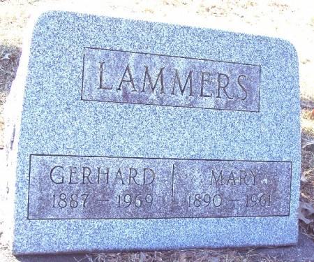 LAMMERS, MARY ELIZABETH - Carroll County, Iowa   MARY ELIZABETH LAMMERS