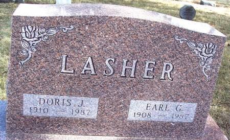 POLLOCK LASHER, DORIS J - Carroll County, Iowa | DORIS J POLLOCK LASHER