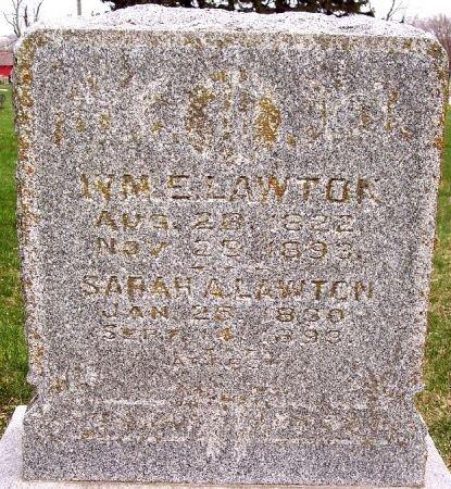 LAWTON, WILLIAM E - Carroll County, Iowa   WILLIAM E LAWTON