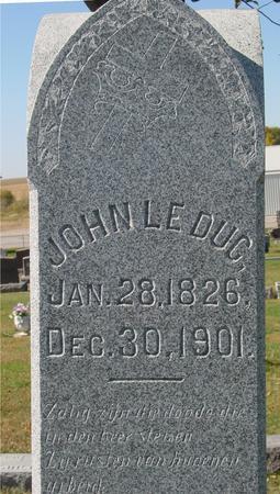 LEDUC, JOHN - Carroll County, Iowa | JOHN LEDUC
