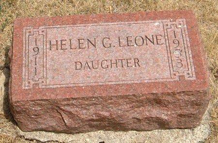 LEONE, HELEN G. - Carroll County, Iowa | HELEN G. LEONE