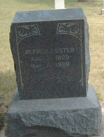 LESTER, ALFRED - Carroll County, Iowa | ALFRED LESTER