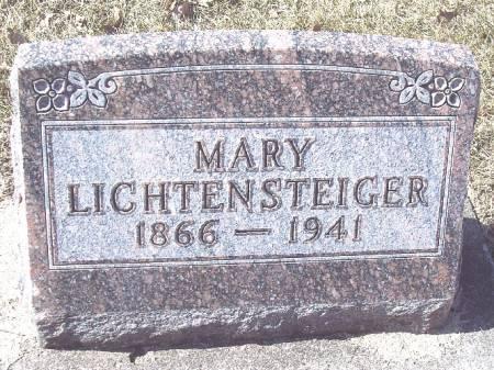 LICHTENSTEIGER, MARY - Carroll County, Iowa | MARY LICHTENSTEIGER