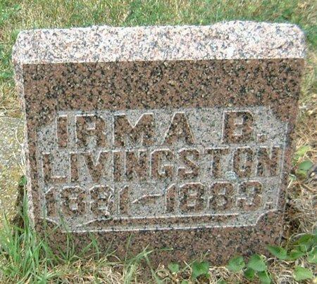 LIVINGSTON, IRMA B. - Carroll County, Iowa | IRMA B. LIVINGSTON