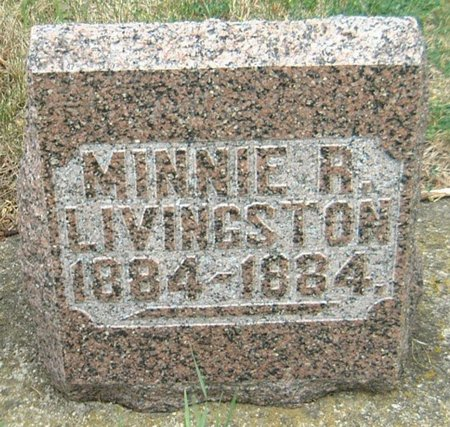 LIVINGSTON, MINNIE R. - Carroll County, Iowa | MINNIE R. LIVINGSTON