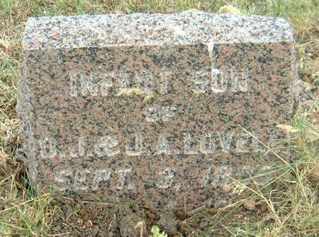 LOVELL, INFANT SON - Carroll County, Iowa   INFANT SON LOVELL