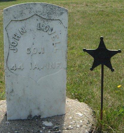 LOVELL, JOHN - Carroll County, Iowa | JOHN LOVELL