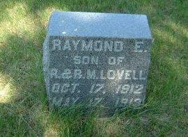 LOVELL, RAYMOND E. - Carroll County, Iowa | RAYMOND E. LOVELL