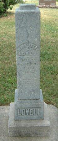 LOVELL, WASHINGTON - Carroll County, Iowa | WASHINGTON LOVELL