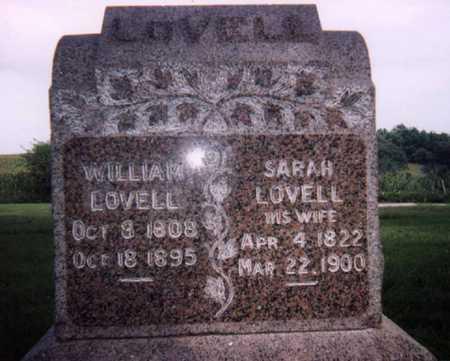 GRACE LOVELL, SARAH JANE - Carroll County, Iowa | SARAH JANE GRACE LOVELL