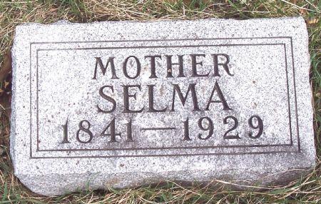 LUX, SELMA - Carroll County, Iowa   SELMA LUX