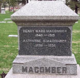MACOMBER, HENRY WARD - Carroll County, Iowa   HENRY WARD MACOMBER