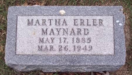 MAYNARD, MARTHA - Carroll County, Iowa   MARTHA MAYNARD