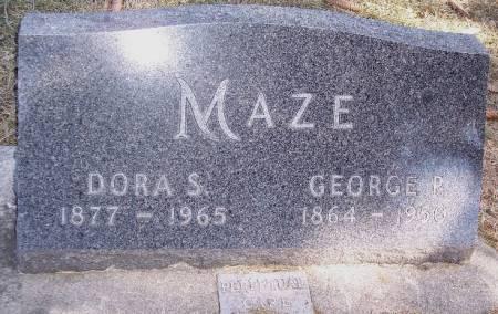 MAZE, DORA S - Carroll County, Iowa | DORA S MAZE