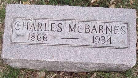 MCBARNES, CHARLES FRANKLIN - Carroll County, Iowa | CHARLES FRANKLIN MCBARNES