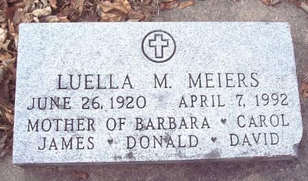 MEIERS, LUELLA MAXINE - Carroll County, Iowa | LUELLA MAXINE MEIERS