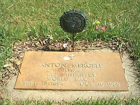 MERGELE, ANTON - Carroll County, Iowa   ANTON MERGELE